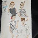 Vogue 6910 Blouses 1950s 1960s Overblouse No. 216