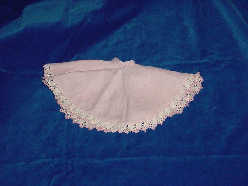 Fashion Doll Circle Skirt Crocheted Hem Cissy Doll? No. 216