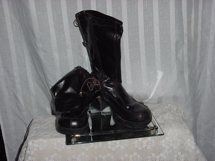 Sketcher Boots Somethin Else US Dark Brown size 4  No. 216