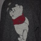 Winnie the Pooh Gray Woman's Sweater Size XXL The Disney Store No 240