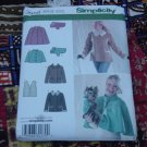 Simplicity 3958 Jacket Capelet Vest Dog Coat Sewing Pattern Size AA XS, S, M  No. 225