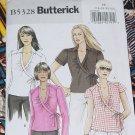 Butterick B5328 Misses' Tops FF 16-22  No. 225