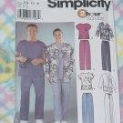 Simplicity 5441 Scrubs Size AA XS-M No. 193