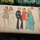 Vintage Evening Dress Pants Scarf Butterick 5549 Size 10 Bust 32 1/2  No. 193
