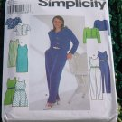 7711   Dress Jumpsuit Jacket Simplicity size P 12, 14, 16  No. 225No. 225