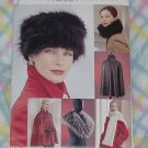 Vogue 641  Vogue Accessories Hat Collar Stole Capelet Cape No. 225