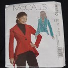 McCalls M5980 Lined Jackets Peplum A5 6-8-10-12-14