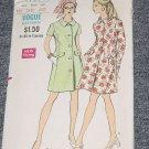 Vintage Vogue 7738 Coat Dress Size 16 Bust 38  No. 226