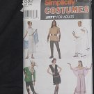 Simplicity 7382 Costumes Jiffy for adults Halloween Size A S,M,L  No. 226