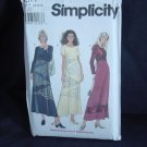 Simplicity 8377 Pullover Dress flared Skirt size P 12, 14, 16 No. 226