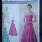 Simplicity 2400 Jessica McClintock Evening Gowns Bolero Size D5 4, 6, 8, 10, 12 No. 226