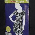 Simplicity A1989 Pullover Dress Tie belt Size 6-18 Uncut  No. 226