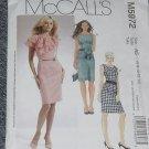McCalls 5972 Misses' Dresses Laura Ashley Size A5 6, 8, 10, 12, 14 No. 226