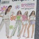 Simplicity 9509 size BB 11/12-15/16  Loungewear pants shorts tops cardigans No. 226