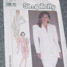 Simplicity 8433 Misses' Size 12 Suit Lined Jacket No. 227