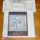 Cross Stitch Chart Lavender & Lace 22 Victorian Designs Ice Angel No. 227