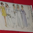 5564 Butterick Dress Junior & Misses' One-piece Bridal Dress  Size 10  No. 227