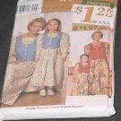 Simplicity Child's Dress Misses' Dress 7769 Size A xs-xl,3-8 No. 88