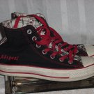 Converse High Top Athletic Shoes Size 3 1/2 Custom Name Abigael Girls Shoes.  243