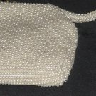 Beaded Clutch Purse Hand bag Ivory beads La Regale   No. 227