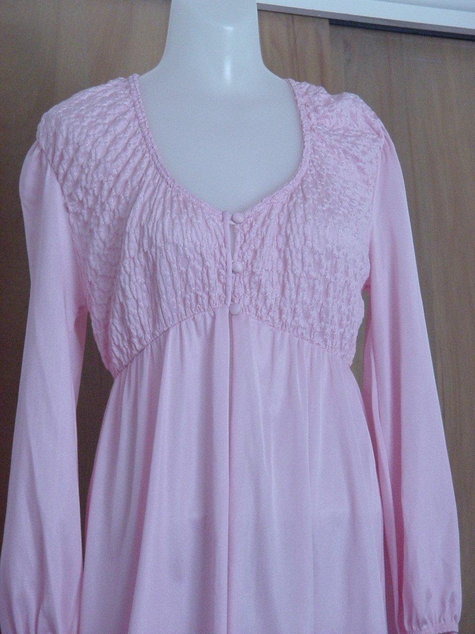 Kayser robe Pink Medium size nightwear   No. 227