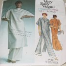 Vogue Sewing Pattern 1457 American Designer Original Bill Blass Evening Tunic top Pants   No. 227