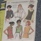 2213 McCall's Vintage Sewing Pattern 6 Blouses One Pattern Size 14 Bust 36 Uncut  No. 247