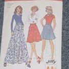 Simplicity 6789 Vintage Pattern Jiffy Back Wrap Skirt  Medium 12-14  No. 247