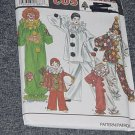 Costume Simplicity 8288 Childs Clowns Halloween Costume Size BB 2-4,6-8,10-12 No. 250