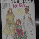 New Look for Kids Pattern 6491 Girls Dress Dressy Dress  Uncut No. 250