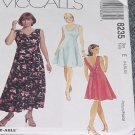 8235 McCalls Misses Pullover Dress Two Lengths  Size E 14, 16, 18 Uncut   No. 250