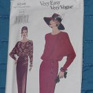 Vogue 8848 Very Easy Very Vogue Dress 6-8-10 Uncut Pattern No. 250