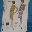 McCall's Pattern 7423  Easy Dress size 14-16 Uncut  No 250