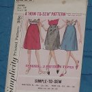 Simplicity How to Sew Pattern 5583  Skirts swize 14t(teen) cut  No 250