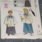 1957 McCalls Girls Boys Choir Cotta Skirt Size 12-14  Uncut   No. 250