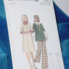 Butterick Pattern 5735 Size 12 Misses Maternity Jumper Pants Top No 250