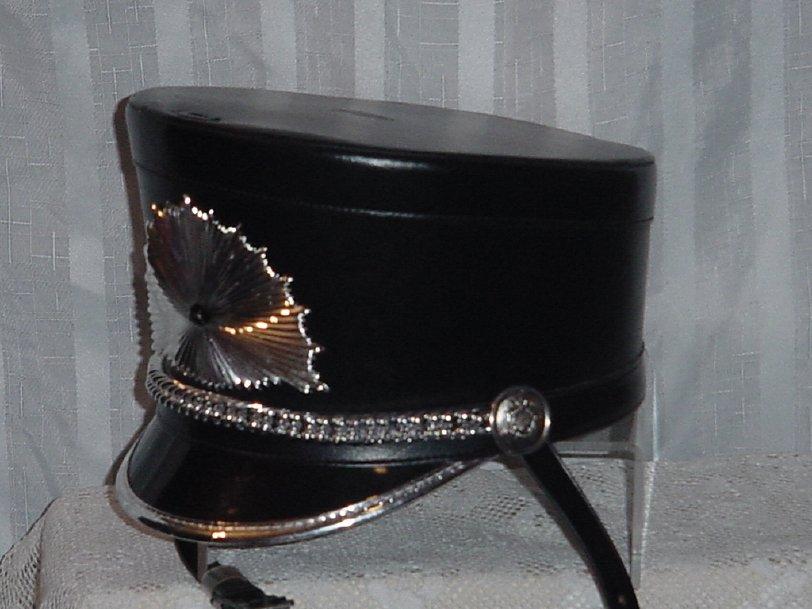 Vintage Drum Majorette Hat Band  Baton Twirler Drum & Bugle Hat