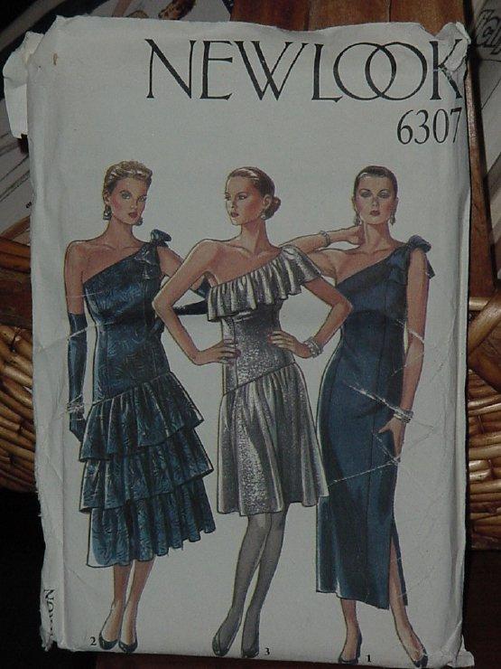 New Look Simplicity Pattern 6307 Misses Dress size 8-18 Dec 3