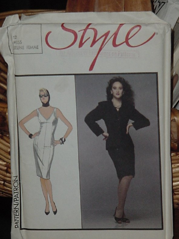 Style 4708 Size 8-14 Uncut Misses' Dress dec