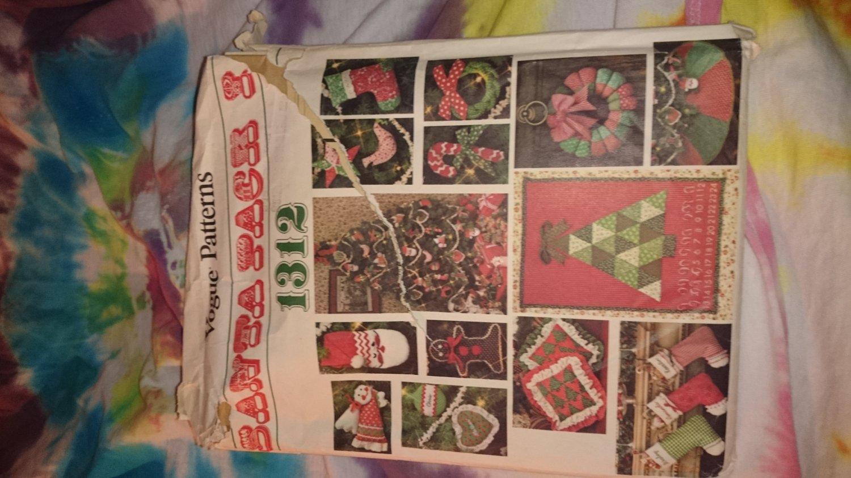 1312 Vogue Craft Christmas Santa Pack
