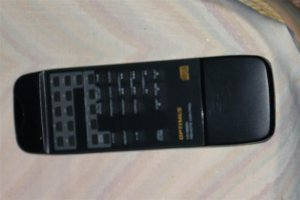 Optimus CD-6220 CD Player Remote......Good.