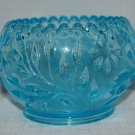 Westmoreland Teal / Aqua Colored Pattern Glass Bowl