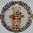 Franklin Mint Teddy's First Birthday Collectors Plate LE