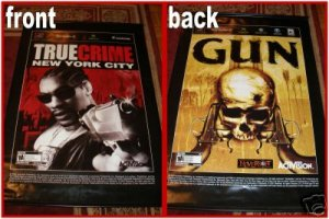 Gun / True Crime New York City - Vinyl Video Game WALLSCROLL
