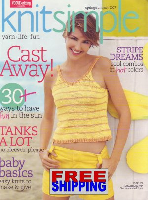Knit Simple - Spring/Summer 2007 -- HALF OFF COVER + FREE SHIPPING