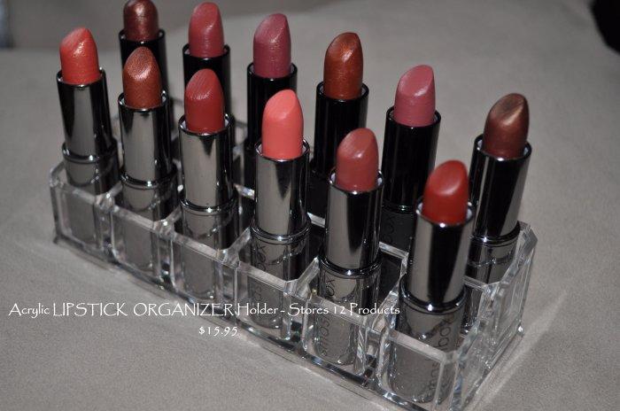 Acrylic LIPSTICK ORGANIZER Lipstick Holder HIGH QUALITY