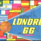 SOCCER WORLD CUP LONDON 1966 Sticker's album