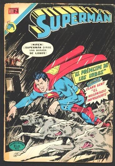 SUPERMAN # 894 Spanish Mexican Comics 1973 NOVARO