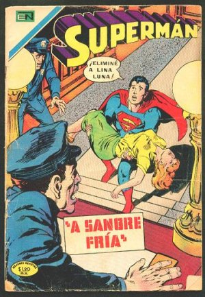 SUPERMAN # 770 Spanish Mexican Comics 1970 NOVARO