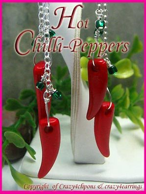 Hot Chilli Peppers Sterling silver